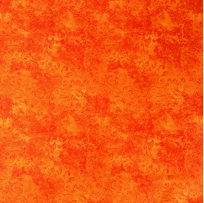 Picture of Quilting Temptations Carrot Orange Blender Cotton Fabric