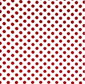 Picture of Polka Dots Quarter Inch Dot Red on White Cotton Fabric