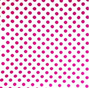 Polka Dots Quarter Inch Dot Pink on White Cotton Fabric