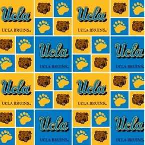 Picture of University of California Los Angeles Bruins UCLA Cotton Fabric
