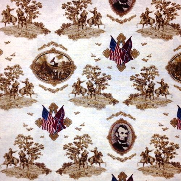 Picture for category Patriotic History Fabrics
