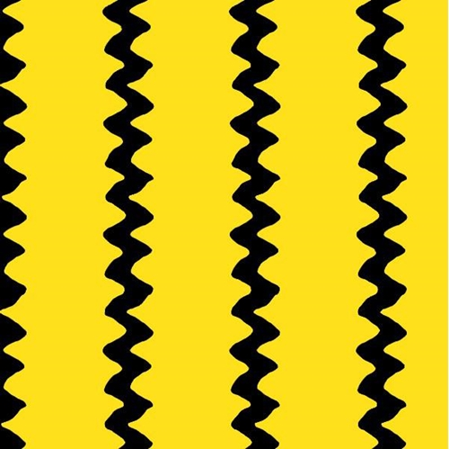 Cotton Fabric - Happiness Is Peanuts Charlie Browns Zigzag Shirt ...