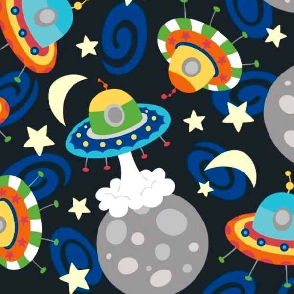 Picture for category Robot - Spaceship Fabrics