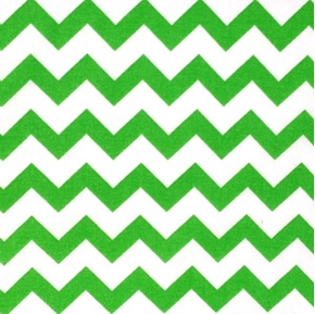 Chevron Lime Green On White 12 Chevrons