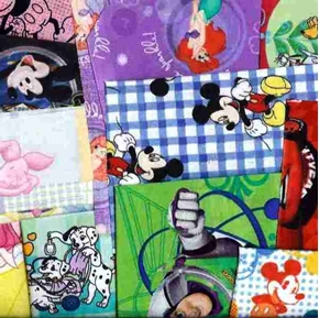 Disney Fabric Half Pound Scrap Bag