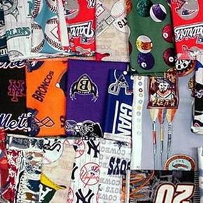 Sports Fabric Scrap Bag