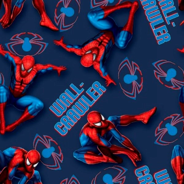 Picture for category Spiderman Fabrics