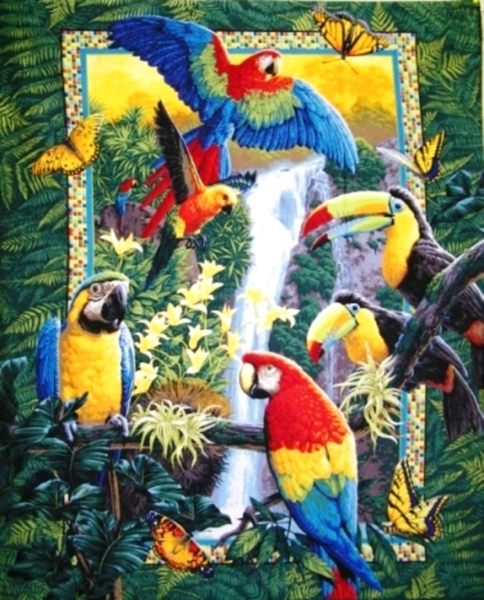 Picture for category Eagle - Bird Large Fabric Panels
