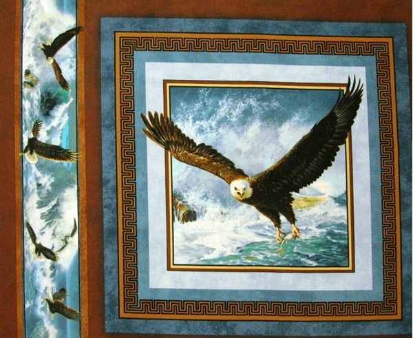 Picture for category Eagle - Bird Pillow Panel Fabrics