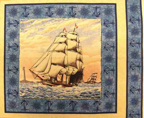Picture for category Nautical Pillows Panel Fabrics