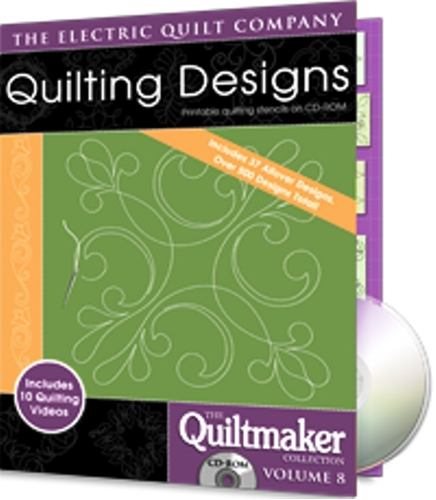 Eq Quiltmakers Quilting Design Software Volume 8 More Allover Designs