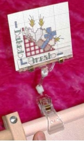 Graph Gripper Pattern Holder Needlework Frame Accessory