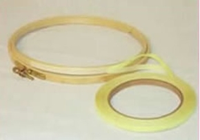 Stitchers No Slip 1/4 Rubber Binding Hoop Tape