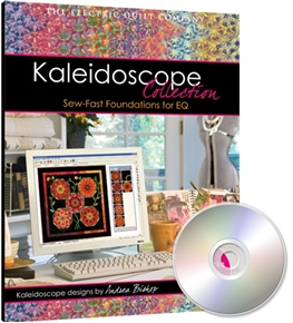 Picture of EQ Electric Quilt Software Kaleidoscope Collection Sew-fast