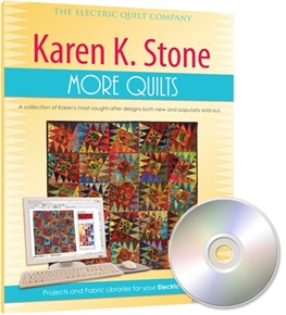 Picture of Electric Quilt EQ 7 Karen K. Stone MORE Quilts Add-On Software