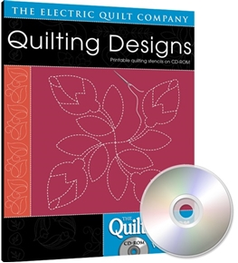 Picture of EQ Quiltmaker's Quilting Designs Software Volume 1 Simple Designs