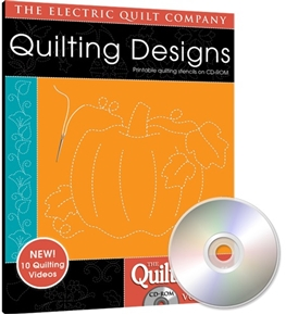 Eq Quiltmakers Quilting Designs Software Volume 3 Holiday Designs