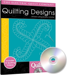 Eq Quiltmakers Quilting Designs Software Volume 4 Swirls And Feathers