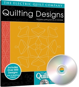 Eq Quiltmakers Quilting Designs Software Volume 5 Flowers And Leaves