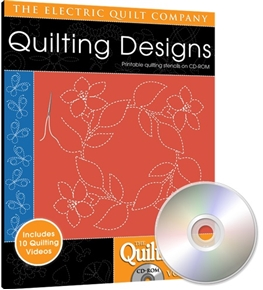 Eq Quiltmakers Quilting Designs Software Volume 6 Continuous Line
