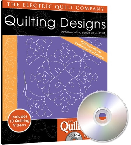 Eq Quiltmakers Quilting Designs Software Volume 7 Allover Designs