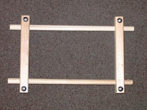 F.A. Edmunds Mini Split Rail Scroll Frame 4.5x9