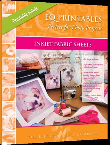 Eq Printables 11X17 Regular Inkjet Fabric 25 Sheets