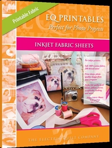 "Picture of EQ Printables 8 1/2x11"" Regular Inkjet Fabric Sheets 25 Pack"