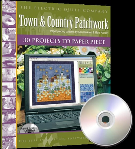 Electric Quilt Design Software Town and Country Patchwork