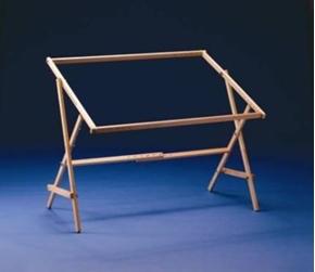 F.A. Edmunds Rug Hooking Quilt Frame