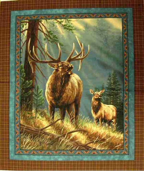 Picture for category Wild Animal Large Fabric Panels