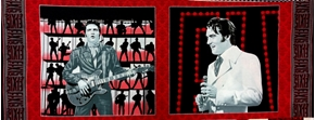 Picture of Elvis Presley 68 Special Movie 18x44 Cotton Fabric Pillow Panel Set