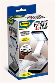 F.A. Edmunds Super Bright Portable LED Lamp