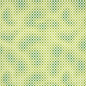 Ombre Dots Shade Of Lime Green Dots Cotton Fabric