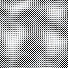 Ombre Dots Shade Of Black And Grey Dots Cotton Fabric