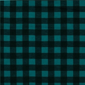 Picture of Flannel Mad about Plaids Dark Teal Blue and Black Plaid Cotton Fabric