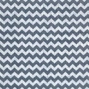 Ziggy Zig Zag Sketch Grey 12 Inch Chevrons Cotton Fabric