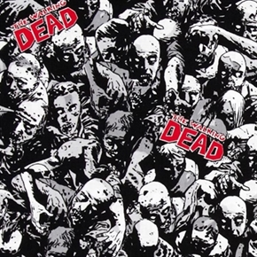 Picture of The Walking Dead TV Series Zombies Cotton Fabric