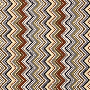 Cowgirl Up Chevron Chevrons in Earth Tones Cotton Fabric