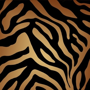 Its a Jungle Out There Large Zebra Fur Pattern Cotton Fabric