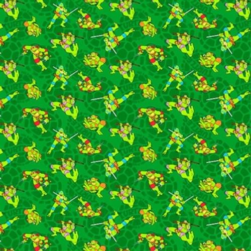 Cotton Fabric Character Fabric Tmnt Teenage Mutant