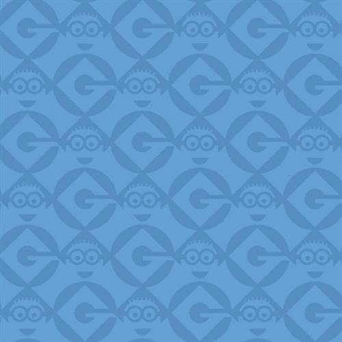 Despicable Me 1 In A Minion Blue Minions Blender Cotton Fabric