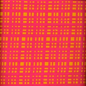 Picture of JB Plaid Jumping Beans Bright Pink and Orange Plaid Cotton Fabric