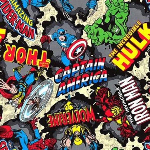 Picture for category Marvel Comic Fabrics