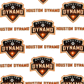 Picture of MLS Soccer Houston Dynamo Team 18x29 Cotton Fabric