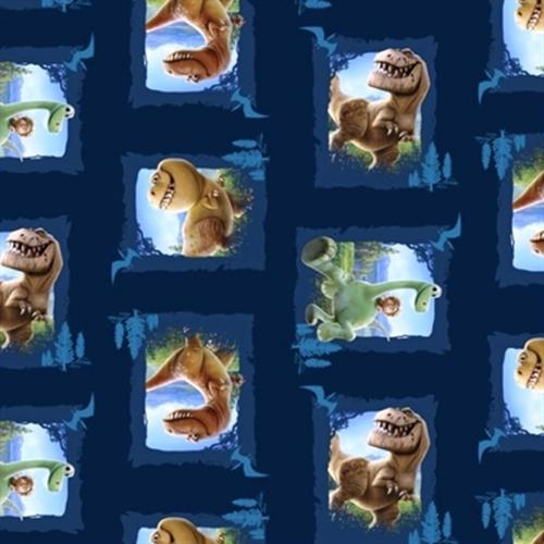 Disney Pixar The Good Dinosaur Movie Patch Arlo Spot Cotton Fabric