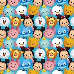 Picture of Disney Emojis Tsum Tsum Disney Plush Toy Emoji Cotton Fabric