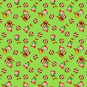 Kelloggs Keebler Elf Fudge Striped Cookies Cotton Fabric