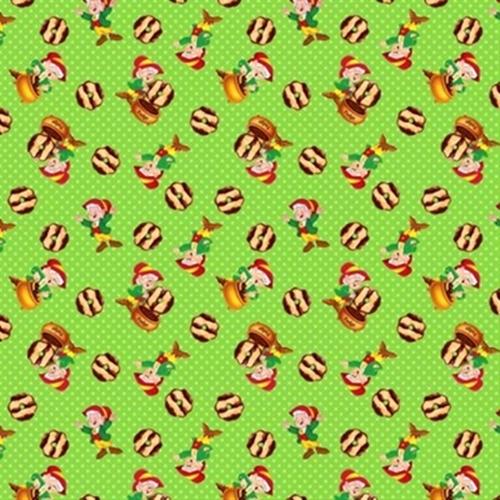 Kelloggs Keebler Elf Fudge Striped Cookies Cotton Fabric