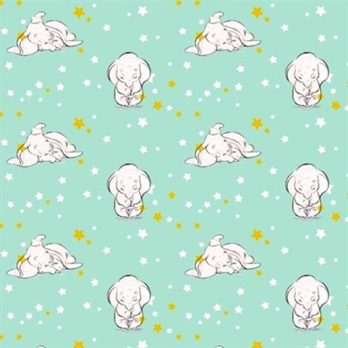 Cotton fabric character fabric disney sweet dreams for Nursery fabric sale